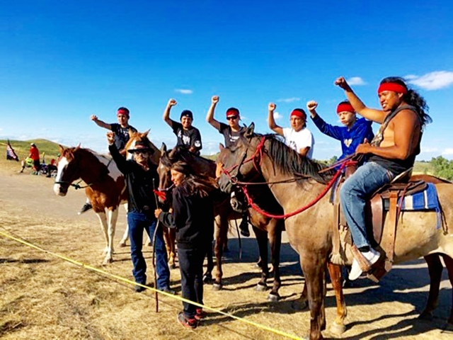 Native people fight to stop Dakota pipeline | Socialist Action