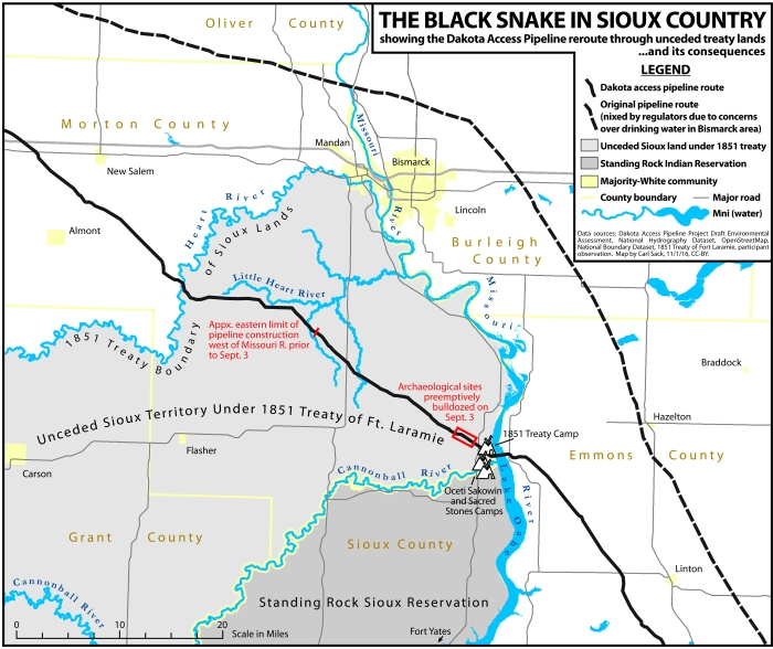 A #NoDAPL Map | Socialist Action