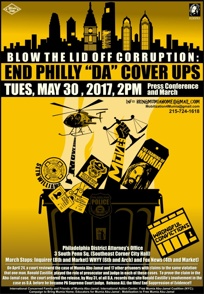 June 2017 Mumia poster