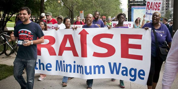 Progress Illinois: National Minimum Wage Day of Action
