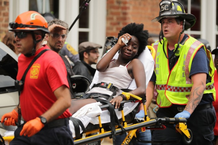 Sept. Charlottesville wounded