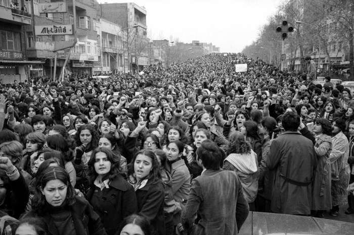 Jan. 2018 Hijab protest Mar. 8, 1979