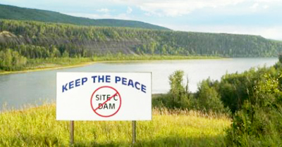 Jan. 2018 No site c
