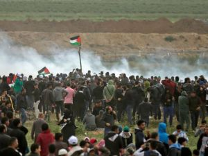 April 2018 Gaza Mahmud Hams : AFP