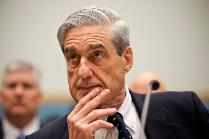 May 2018 Robert Mueller - Scott Applewhite:AP