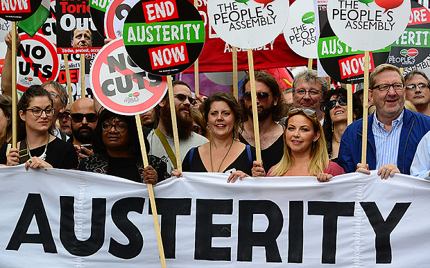 End Austerity Now National Demonstration, London, Britain - 20 Jun 2015