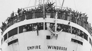 May 2018 Windrush ship