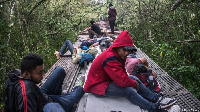Aug. 2018 Migrants train