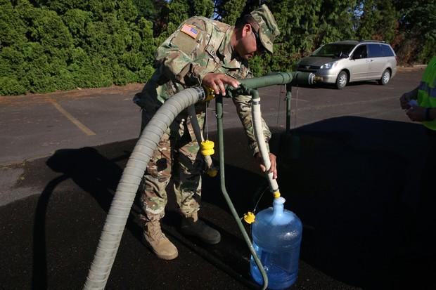 July 2018 Oregon water