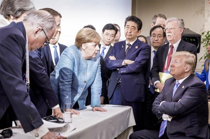 Sept. 2018 Trum Merkel 3