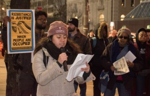 Jan. 2019 Hill protest (Joe Piette)