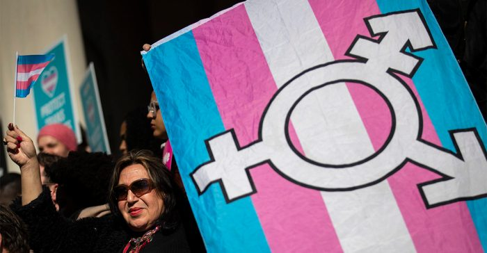Rally Held In Support Of Transgender Community