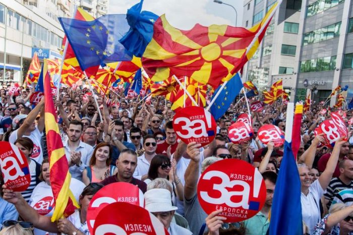 MACEDONIA-REFERENDUM-POLITICS-GREECE