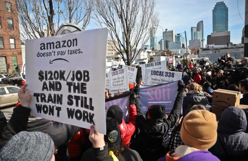 March 2019 Amazon Nov. 14 (Bebeto Matthews :AP)