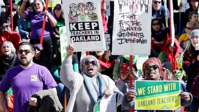March 2019 Oakland teachers