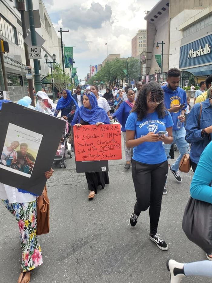 July 2019 Sudan march phila