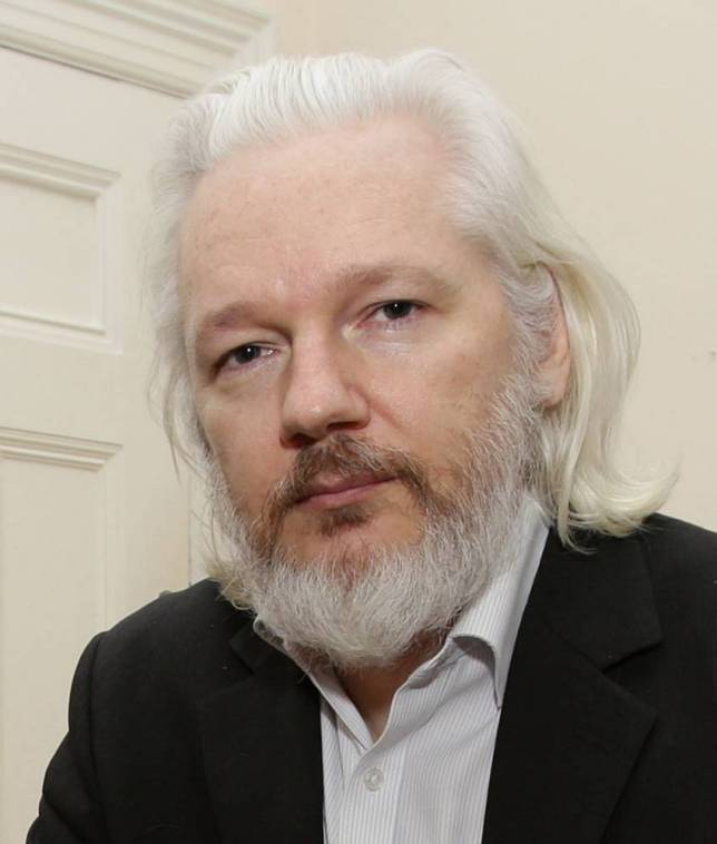 Aug. 2019 Julian Assange