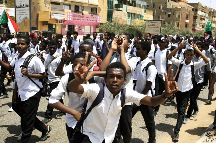 Aug. 2019 Sudan Students 31JUL19