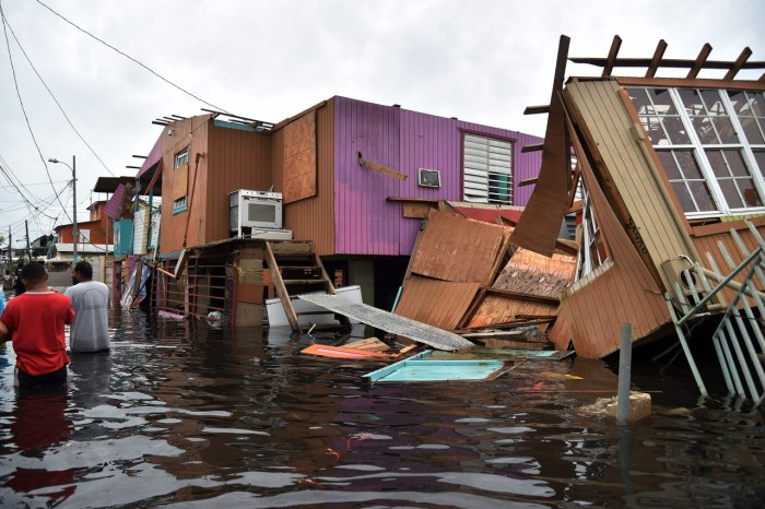 Sept. 2019 Hurricane Maria P.R. (Hector Retamal:AFP:Getty)