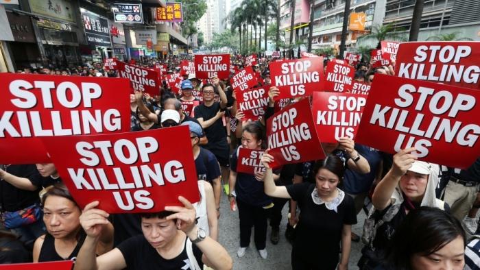 Sept. 2019 HOng Kong (Athit Perawongmetha:Reuters)