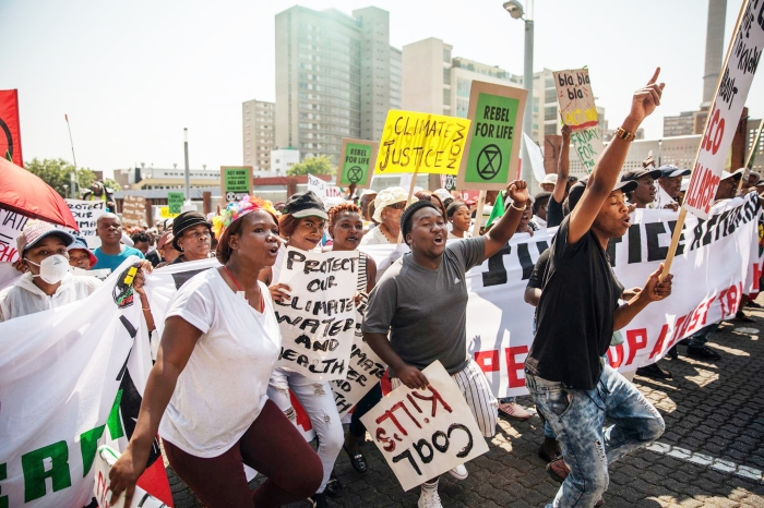 Oct. 2019 Climate Johannesburg (CNN)