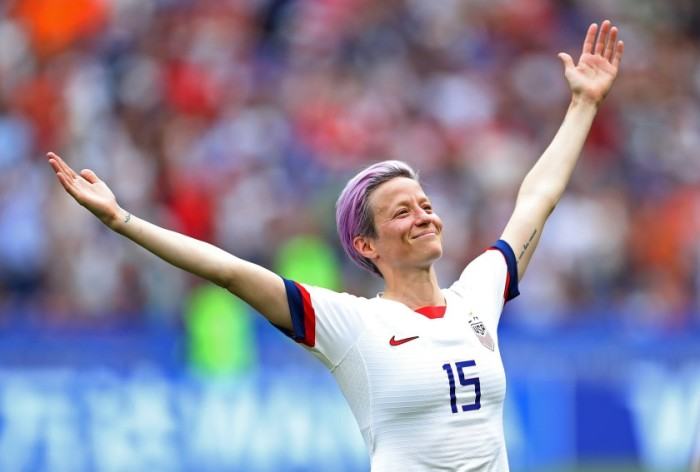 Oct. 2019 Megan Rapinoe (Maja Hitij:Getty)